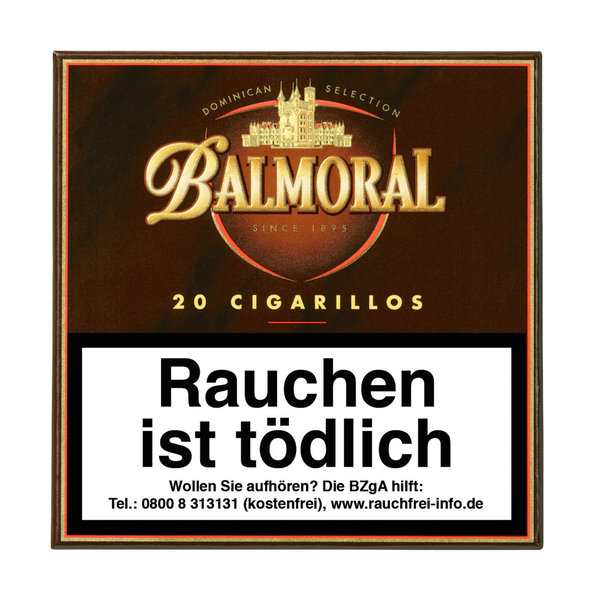 Balmoral Dominican Selection Cigarillo, 20 Stück