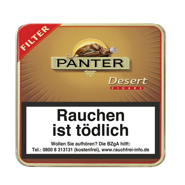 Panter Desert Filter Cigarillo, 20 Stück