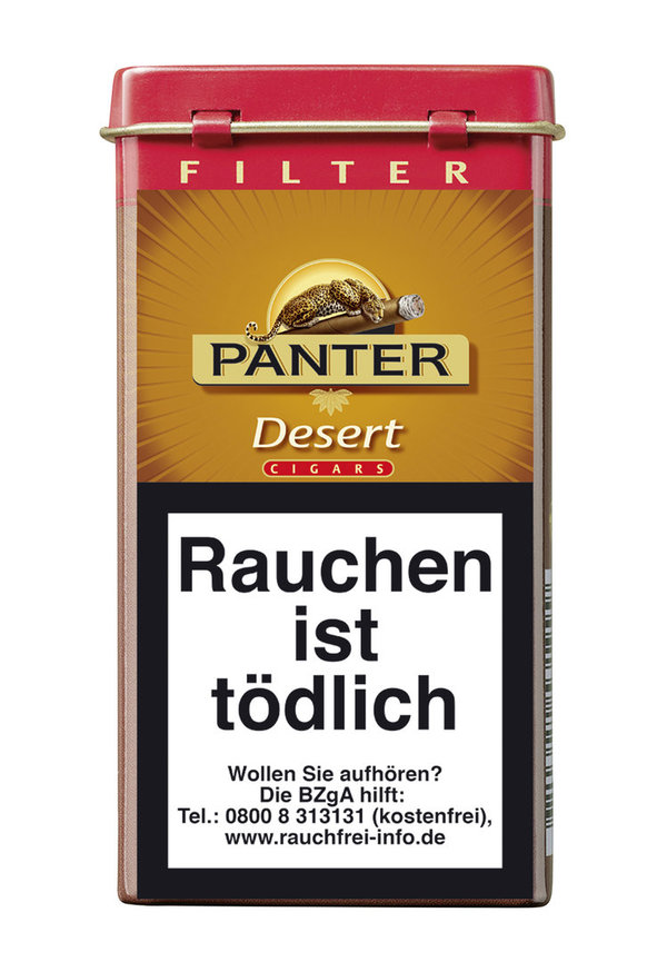 Panter Desert Filter Cigarillo, 5 Stück