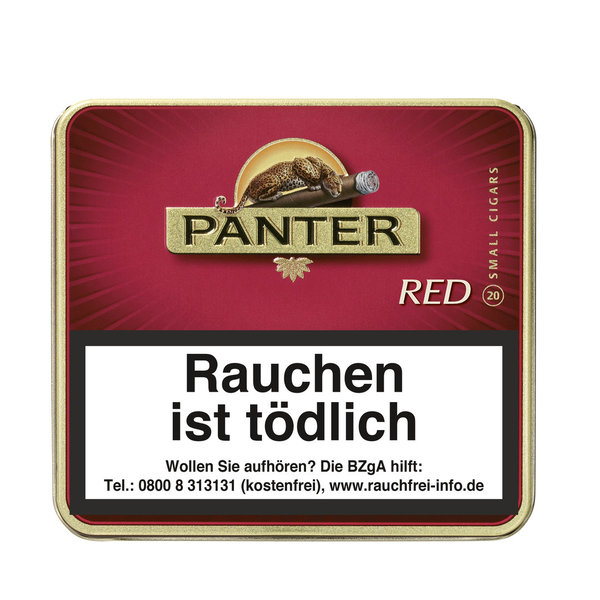 Panter Red Cigarillo, 20 Stück
