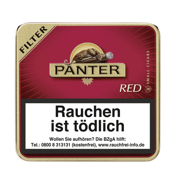 Panter Red Filter Cigarillo, 20 Stück